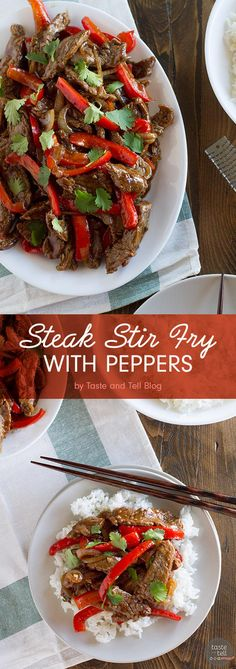 Steak Stir Fry Recipe with Peppers | 7 Quick Back-To-School Dinners To Make This Week