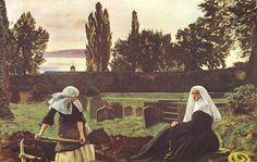 The Vale Of Rest - John Everett Millais