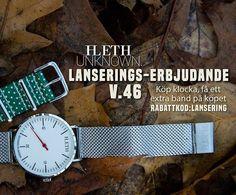 A.Leth ger er UNKNOWN.  Svensk, stillren & tidlös design.  #ALeth #UNKNOWN  lethwatches.com