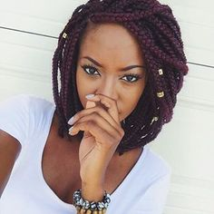 A homage to Brandy. | 17 Stunning Women Who Proved Box Braids Were THE Hair Style Of 2015