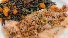 Saber Cocinar - Escalopines a la crema con champiñones