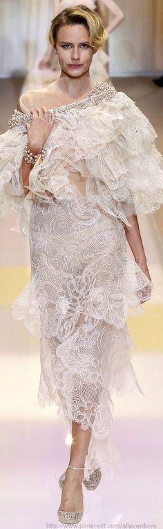 Giorgio Armani Privé Haute Couture Fall Winter 2013-14 collection
