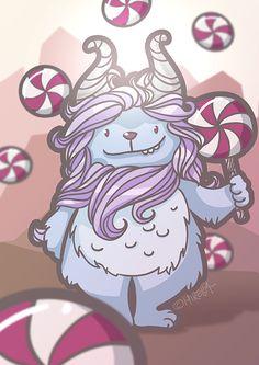 Süßigkeiten Monster, sweets monster,