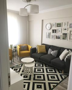 [New] The 10 Best Home Decor (with Pictures) - Small living room inspiration. Home Living Room, Interior Design Living Room, Living Room Designs, Living Room Decor, Design Bedroom, Bedroom Ideas, Bedroom Decor, White Decor, Living Room Inspiration