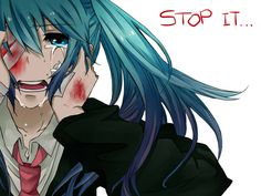 Hatsune Miku Crying