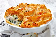 This fish pie is a great way to inject extra fresh vegetables into your diet. Six types of fresh vegies are included in this recipe.