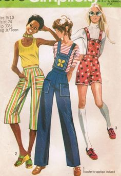 1970s Simplicity 9375 Vintage Sewing Pattern by midvalecottage