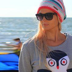100% cotton handmade surf beanies #Zizterz #KnitZizterz #Surf #Girl #Beanie #Surfing #SurfHat #HILP #RayBan