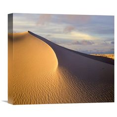 Sand Dune, White Sands National Monument, New Mexico By Tim Fitzharris, 14 X 16-Inch Wall Art