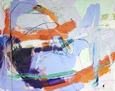 Contemporary abstract mixed media painting by Taylor Thomas