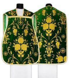 Roman chasuble green | Chasubles \ Roman Chasubles