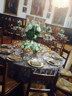 Museum of St John Brass table candelabra with battery dinner candles by www.stressfreehire.com #venuetransformers