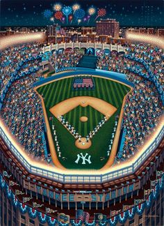 Yankee Stadium by Eric Dowdle - New York, New York
