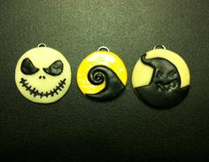 Glow In The Dark Nightmare Before Christmas by LovecraftsCreations, $10.00