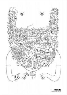 Publicidad Gillete ¿Qué hay en tu barba?