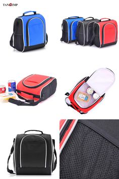 Visit to Buy  TANGIMP 7L Portable Insulated Lunch Bags Oxford Thermal  Lunchbox Food Picnic 85b4a9b65e703