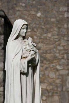 SANTA TERESINHA DO MENINO JESUS... ROGAI POR NÓS!!!  :)