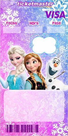 te invito a festejar mis 4 años junto a dodos mis amigos Ana Frozen, Frozen Cake, Disney Frozen, Frozen Birthday Party, Frozen Party, Birthday Party Invitations, Brother Birthday, Girl Birthday, Alphabet