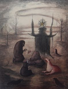 Leonora Carrington, Témenos (Be afraid of us)