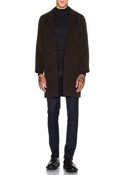 CHRISTOPHER KANE Wool Raglan Coat. #christopherkane #cloth #