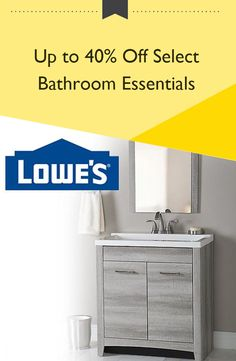 Up To 40 Off Select Bathroom Essentials