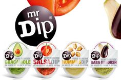 Mr. Dip is a line of fresh dips developed to dip with chips, veggies or to spread on for example a sandwich. There is a mr. Dip Guacamole, Hummus, Baba Ganoush and a Tomato and Pepper Salsa. All ma…