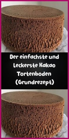 The simplest cocoa cake base (basic recipe) April 09 Der einfachste Kakao Tortenboden (Grundrezept) April 09 2019 Ingredients: 5 eggs 5 tablespoons sugar 5 tablespoons flour 5 tablespoons warm … - Chocolate Chip Pancakes, Chocolate Cake, Chocolate Sponge, Easy Cake Recipes, Dessert Recipes, Cocoa Cake, Diy Y Manualidades, Unsweetened Cocoa, Cake Mold