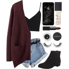 kathleen - catfish and the bottlemen by jade-annnn on Polyvore featuring Acne Studios, Miss Selfridge, CO, M&S, Smashbox, NARS Cosmetics and Rimini