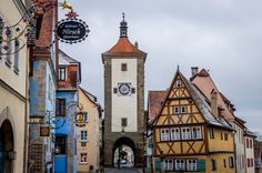 Rothenburg ob der Tauber on the Romantic Road Germany is fairy tale perfect!