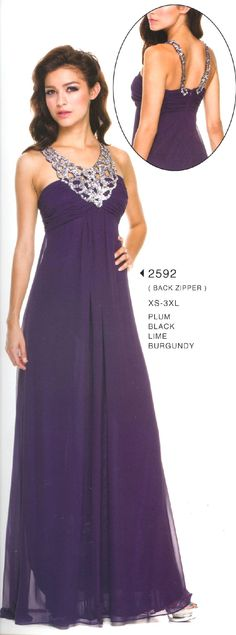 Evening Dress  2592 Smart is Chic!