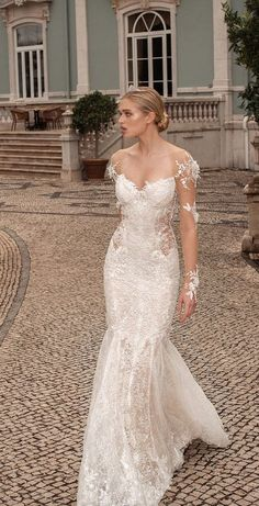 Courtesy of Galia Lahav Wedding Dresses; Photo: Philip Gay; Model: Ella Hope; www.galialahav.com