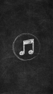 Chalkboard Instagram Story Highlight Icon - Music Notes Deer Wallpaper, Black Phone Wallpaper, Funny Iphone Wallpaper, Galaxy Wallpaper, Instagram Music, Instagram Logo, Instagram Story Ideas, Cute Tumblr Quotes, Last Minute Diy Costumes