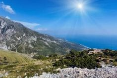 Llogara national park, home to much of Albania's copious flora