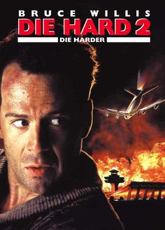 Die Hard 2: Die Harder (German) 27x40 Movie Poster (1990)