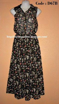 D67 Floral Maxi Dress #fashion #dress #boutique #promo #soeursgoodies
