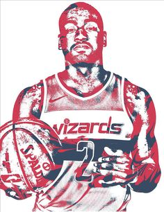 John Wall Washington Wizards Pixel Art 34 Art Print by Joe Hamilton. All prints are professionally printed, packaged, and shipped within 3 - 4 business days. Joe Hamilton, Goat Art, John Wall, Washington Wizards, Thing 1, Nba Players, Dream Team, All Art, Pixel Art