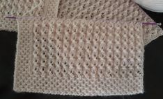 Diy Crafts - This post was discovered by nurten TERZİOĞLU. Baby Knitting Patterns, Knitting Stitches, Stitch Patterns, Crochet Patterns, Crochet Shawl, Crochet Top, Learn How To Knit, Knitting Videos, Texture Design