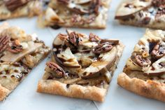 Balsamic Pear Pizza Recipe with Pecans