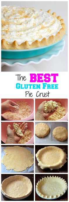 The best gluten free pie crust is one that is so flaky and buttery, it's hard to believe that it's gluten free. We have that recipe right here in this post!