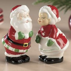 Santa & Mrs. Claus S Shakers from The Swiss Colony®