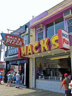 Mack's Pizza on the Wildwoods Boardwalk