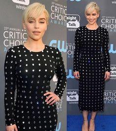 Emilia clarke 2018 red carpet dress