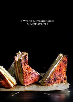 creme brulee [monte cristo] sandwiches