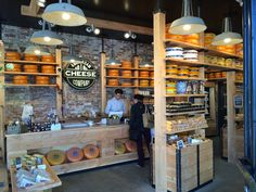 Amsterdam Cheese Company, Amsterdam (Leidsestraat), Holland.