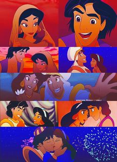 Disney Couples - Aladdin and Jasmine