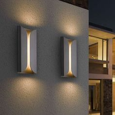 📣 97 Choices Unique Elegant Lighting LED Outdoor Wall Sconce For Modern Exterior House Designs 95 Led Wall Sconce, Outdoor Wall Sconce, Outdoor Wall Lighting, Exterior Lighting, Outdoor Walls, Home Lighting, Modern Lighting, Wall Sconces, Indoor Outdoor