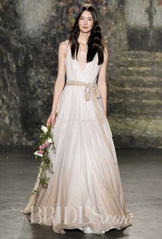 Brides: Jenny Packham Wedding Dresses - Spring 2016 - Bridal Runway Shows - Brides.com