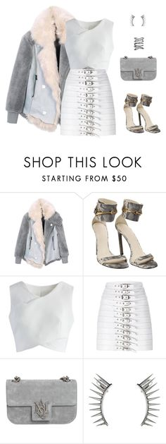 """""""#oversizedcoats"""" by pana-canaj ❤ liked on Polyvore featuring Gucci, Chicwish, Manokhi, Alexander McQueen, Latelita and Sidney Chung"""