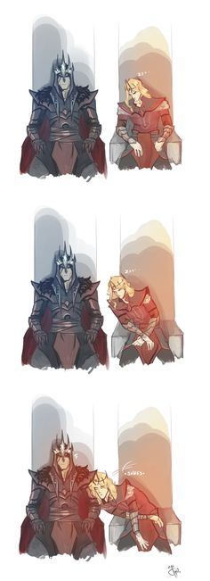 Melkor and Sauron You know there were bound to have been some slow days in Angband now and then. Thranduil, Legolas, O Silmarillion, Morgoth, Jrr Tolkien, Dark Lord, Lord Of The Rings, Middle Earth, The Hobbit