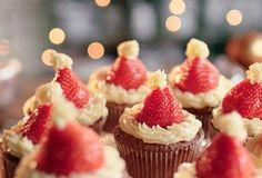 Keisjiek kerstgebak   Solo op Solo Open Kitchen Brownie Cupcakes, Mini Cupcakes, Fancy Desserts, Mets, Open Kitchen, Foodies, Cheesecake, Muffin, School
